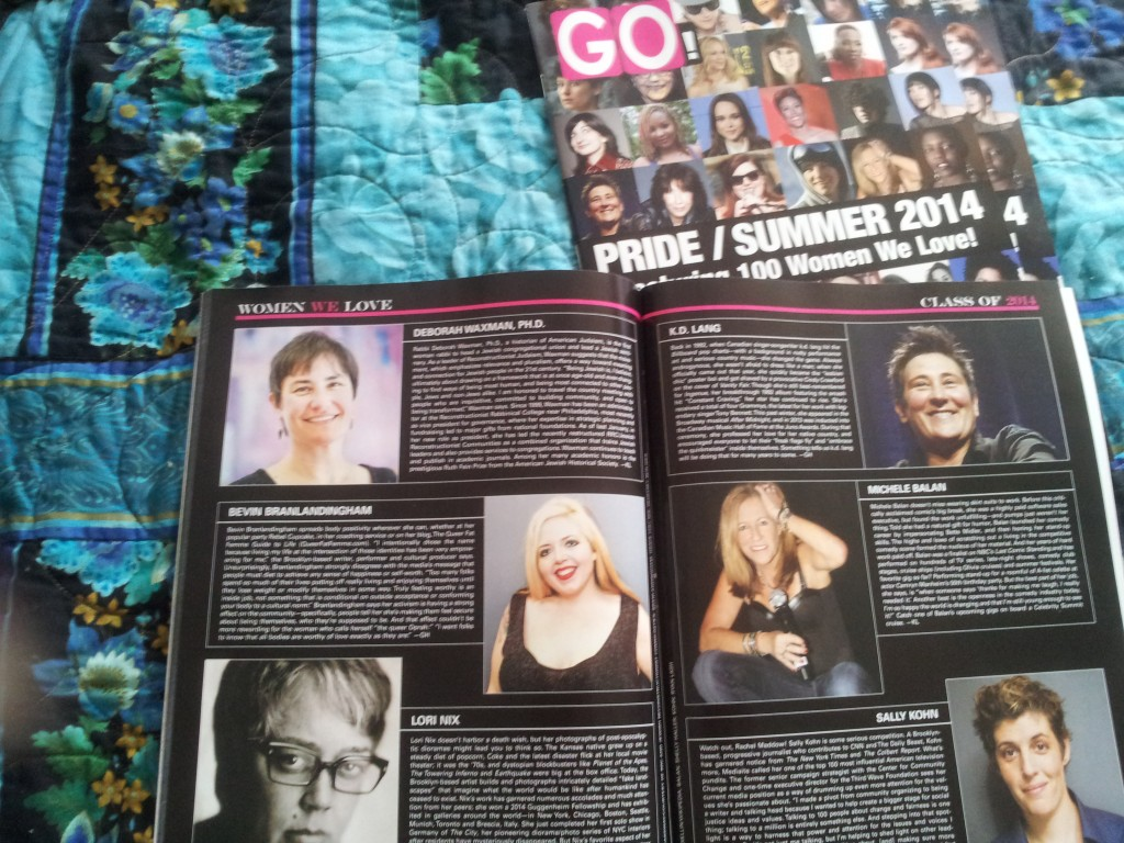 Bevin Branlandingham Included in Go Magazine's 100 Women We Love