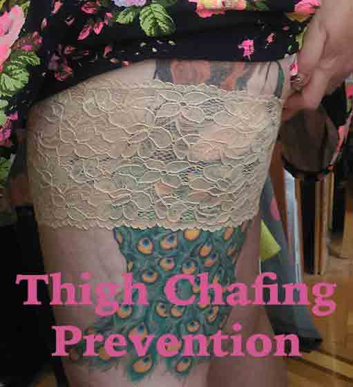 More Thigh Chafing (aka Chub Rub) Prevention And Treatment Strategies
